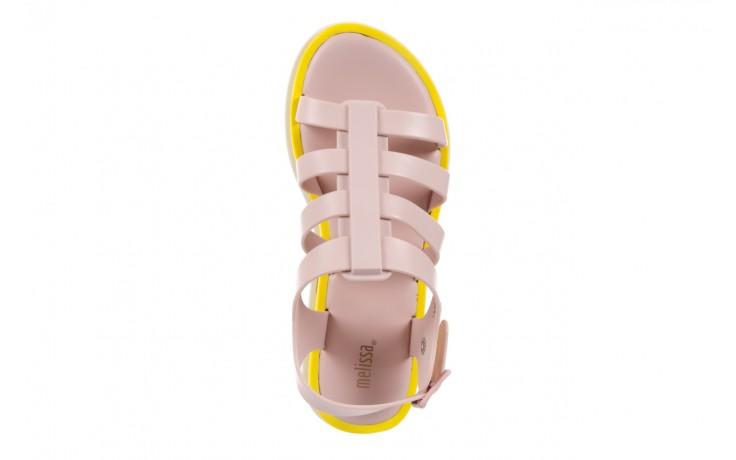 Sandały melissa flox iii ad pink-yellow, beż, guma - melissa - nasze marki 4