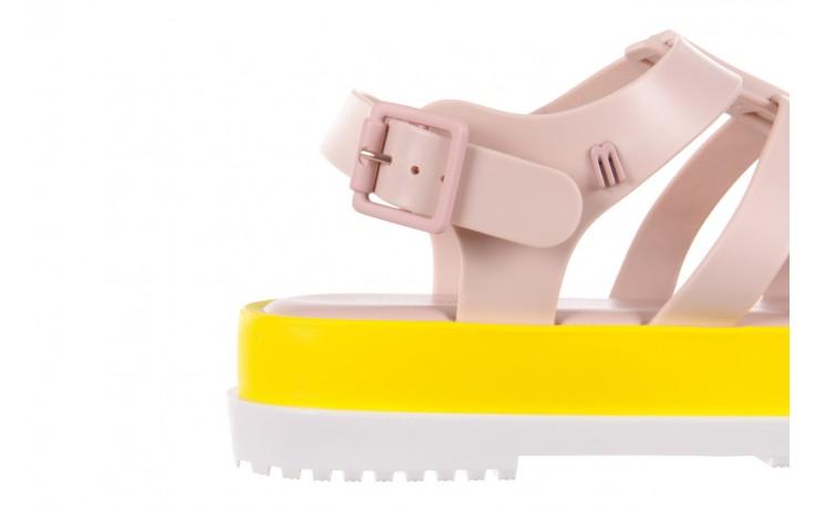 Sandały melissa flox iii ad pink-yellow, beż, guma - melissa - nasze marki 5