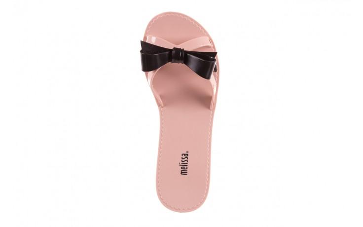 Klapki melissa fluffy ad pink black, róż/czarny, guma - melissa - nasze marki 4