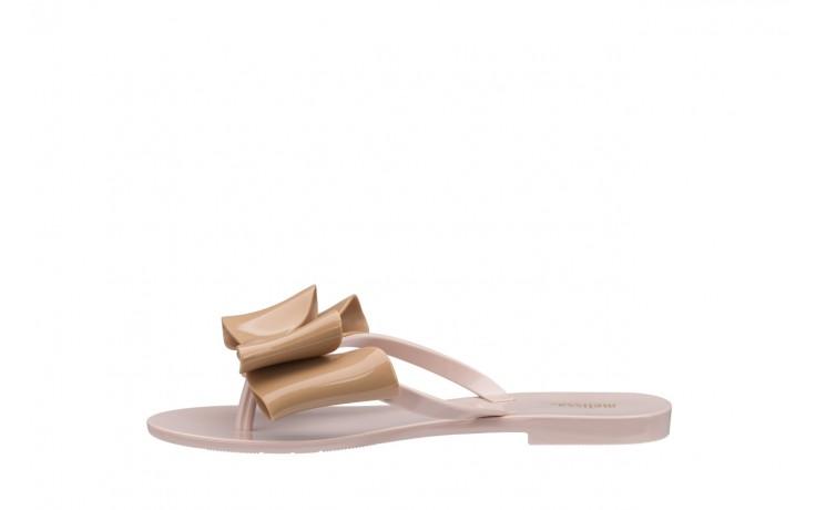 Klapki melissa harmonic bow iv ad pink beige, róż/beż, guma - japonki - klapki - buty damskie - kobieta 2