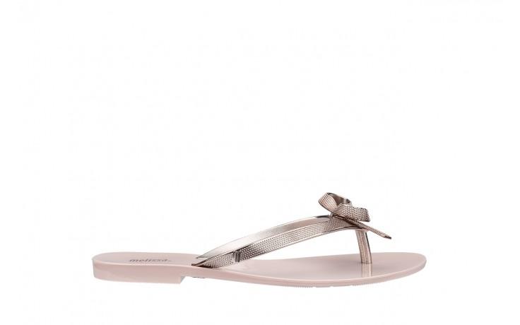 Klapki melissa harmonic chrome ii ad pink metallic 010262, róż, guma - japonki - klapki - buty damskie - kobieta