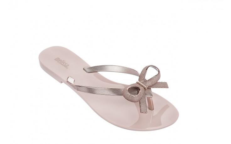 Klapki melissa harmonic chrome ii ad pink metallic 010262, róż, guma - japonki - klapki - buty damskie - kobieta 1