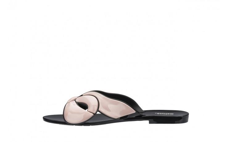 Klapki melissa harmonic maxi bow ad black pink, róż/czarny, guma - japonki - klapki - buty damskie - kobieta 2