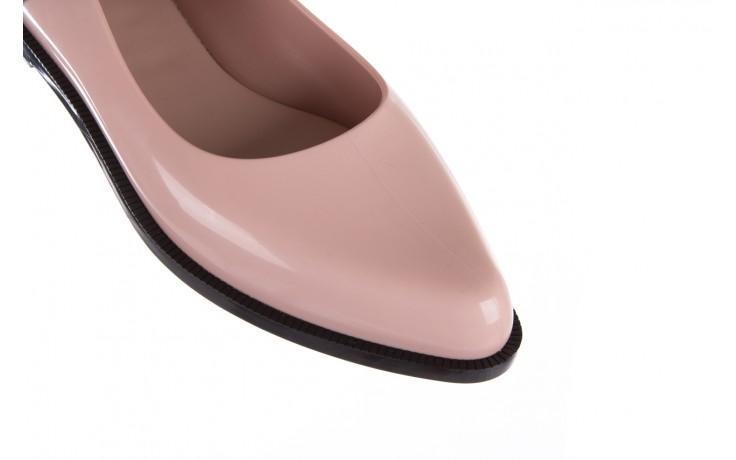 Półbuty melissa mary jane ad pink black, róż/czarny, guma - melissa - nasze marki 7