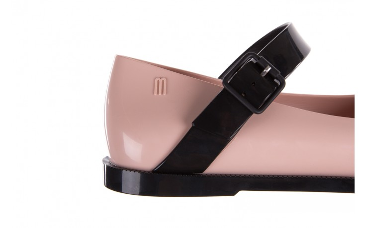 Półbuty melissa mary jane ad pink black, róż/czarny, guma - melissa - nasze marki 8