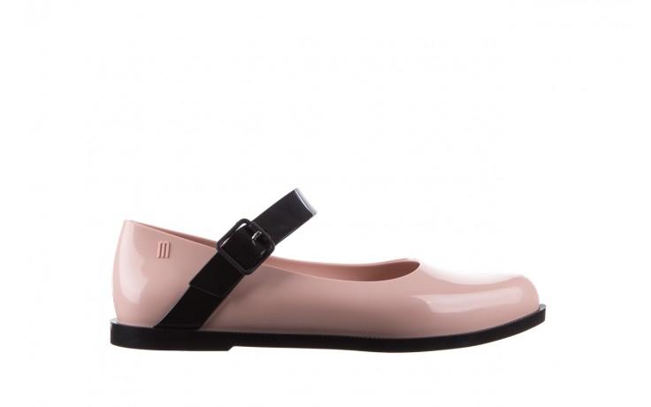 Półbuty melissa mary jane ad pink black, róż/czarny, guma - melissa - nasze marki