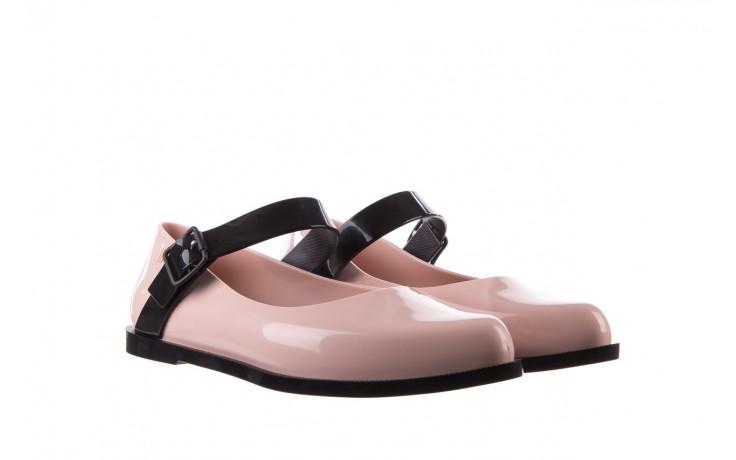 Półbuty melissa mary jane ad pink black, róż/czarny, guma - melissa - nasze marki 1