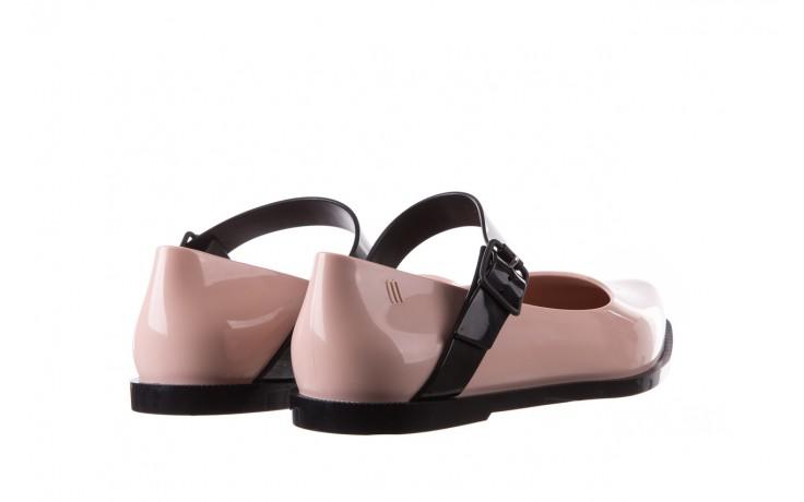 Półbuty melissa mary jane ad pink black, róż/czarny, guma - melissa - nasze marki 5