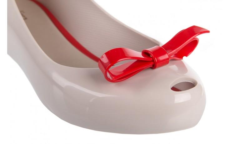 Melissa ultragirl bow ad beige/red - melissa - nasze marki 5