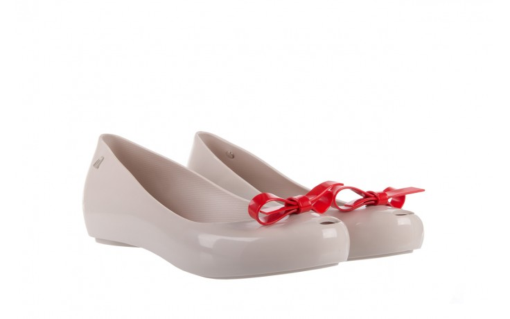 Melissa ultragirl bow ad beige/red - melissa - nasze marki 1