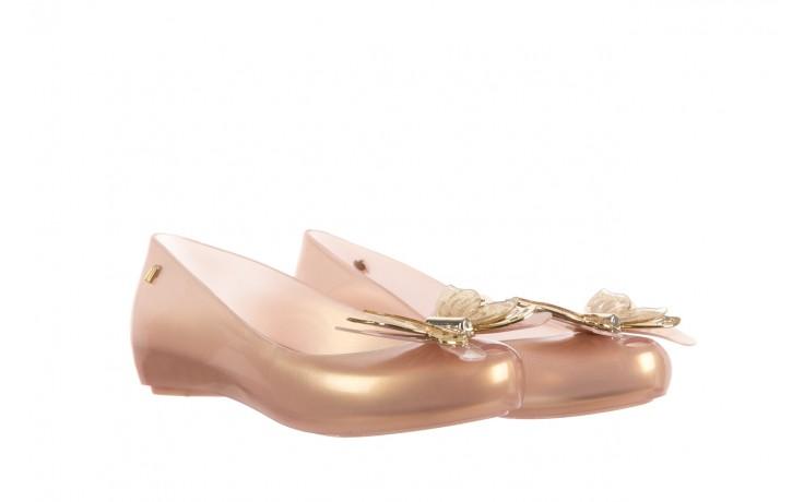 Baleriny melissa ultragirl fly ad pearlized beige, złoty, guma - melissa - nasze marki 1