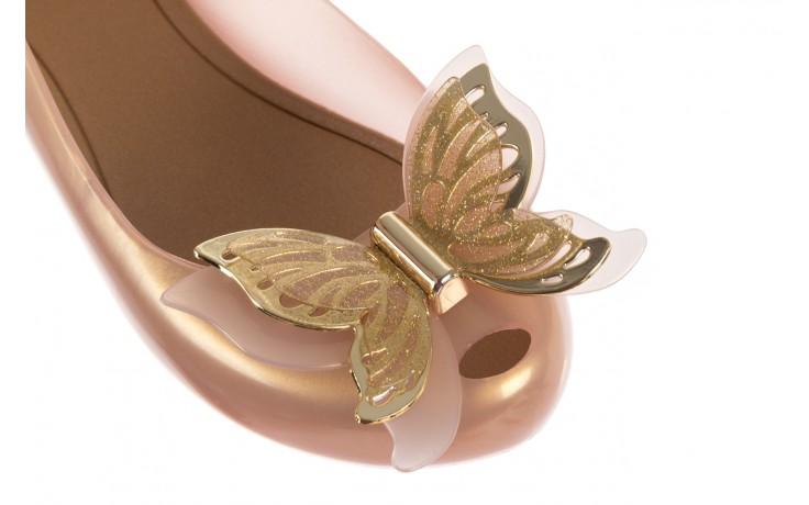 Baleriny melissa ultragirl fly ad pearlized beige, złoty, guma - melissa - nasze marki 5