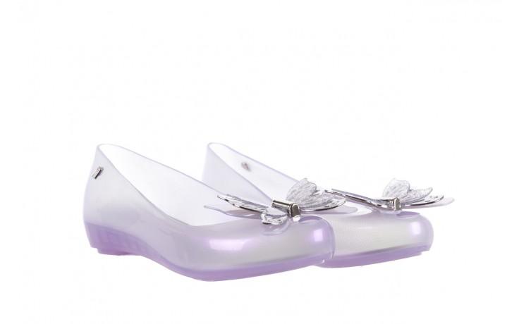 Baleriny melissa ultragirl fly ad pearly lilac, biały/fiolet, guma - melissa - nasze marki 1