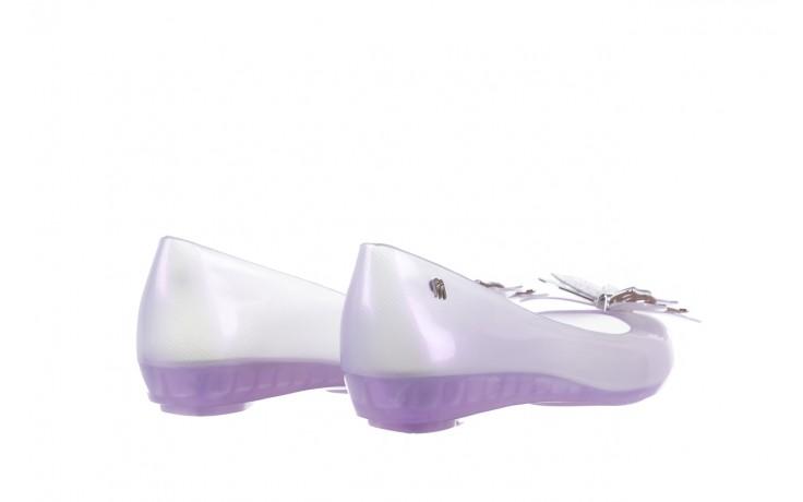 Baleriny melissa ultragirl fly ad pearly lilac, biały/fiolet, guma - melissa - nasze marki 3