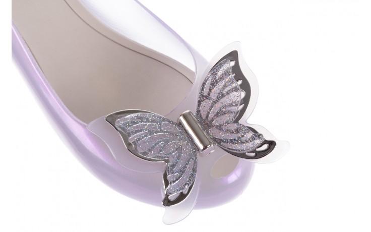 Baleriny melissa ultragirl fly ad pearly lilac, biały/fiolet, guma - melissa - nasze marki 5