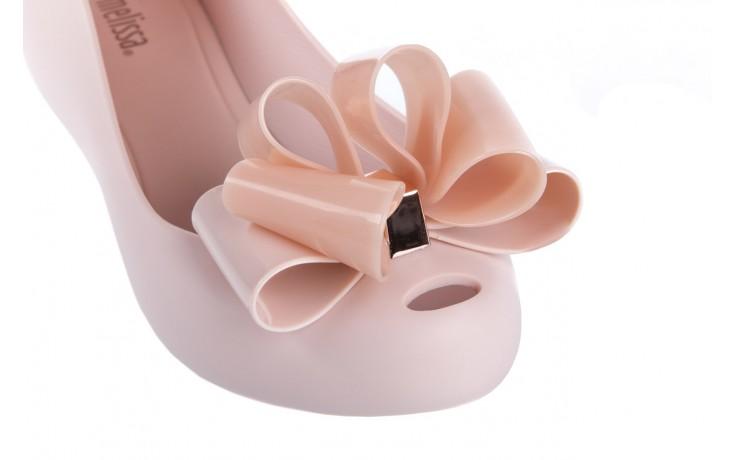 Baleriny melissa ultragirl sweet x ad light pink, róż, guma - melissa - nasze marki 5