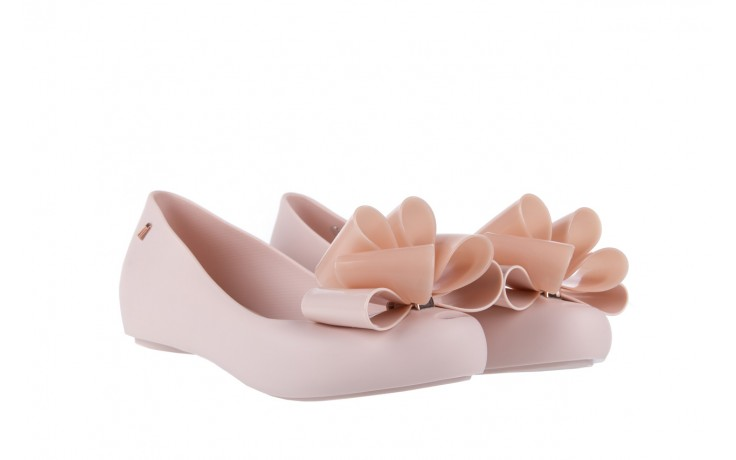 Baleriny melissa ultragirl sweet x ad light pink, róż, guma - melissa - nasze marki 1