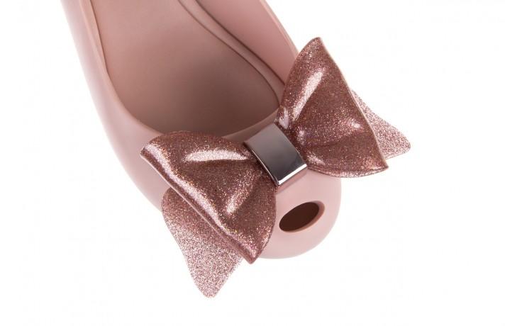 Baleriny melissa ultragirl sweet xiv ad light pink, róż, guma - melissa - nasze marki 5