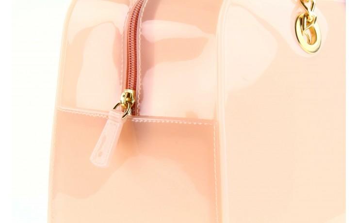 Torebka menghi 601 bauletto rosa gel, beż, tworzywo sztuczne