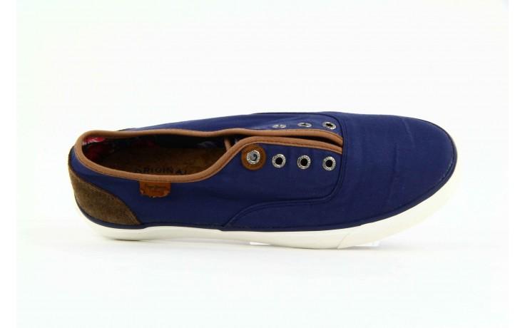 Trampki pepe jeans pms30009 571 blue, granat, materiał  - trampki - dla niego - sale 1