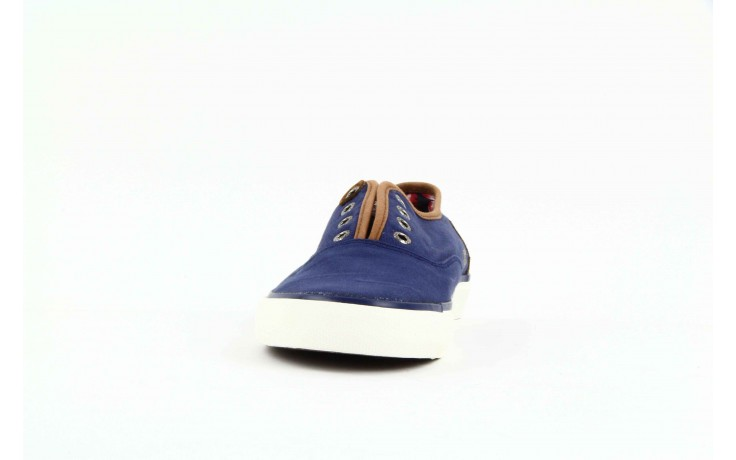 Trampki pepe jeans pms30009 571 blue, granat, materiał  - trampki - dla niego - sale 4