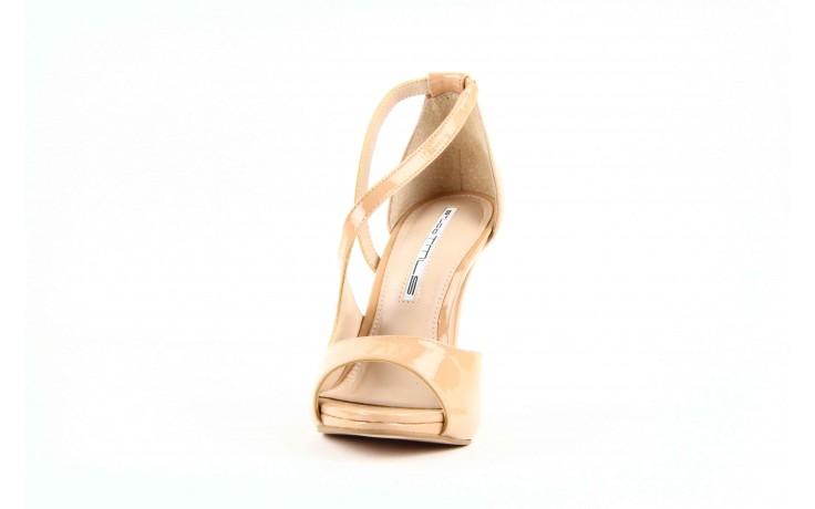 Sandały studio tmls 25156x patent soft forget me, beż, skóra naturalna lakierowana 3