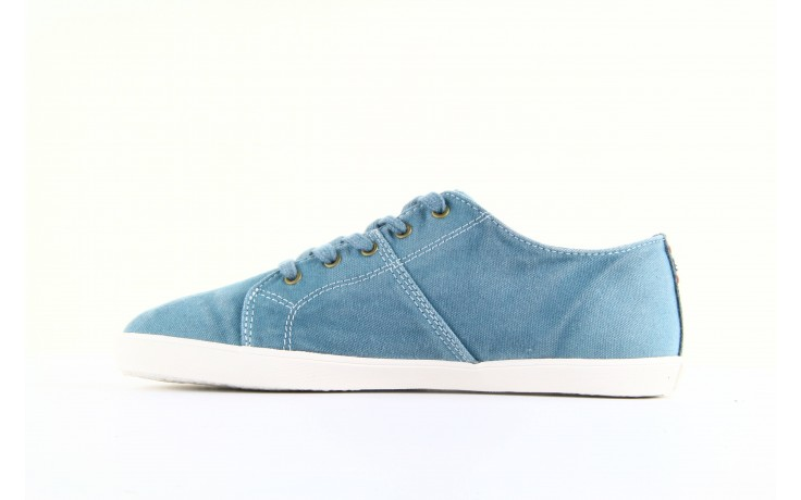 Trampki napapijri 08738149 blue grey, niebieski, materiał 5