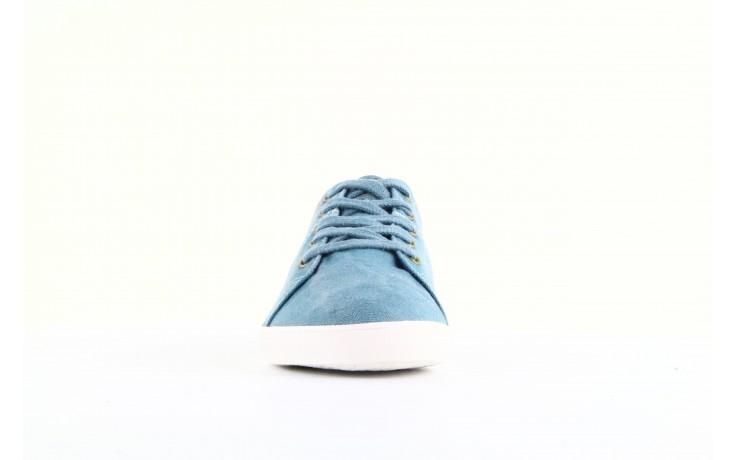 Trampki napapijri 08738149 blue grey, niebieski, materiał 4