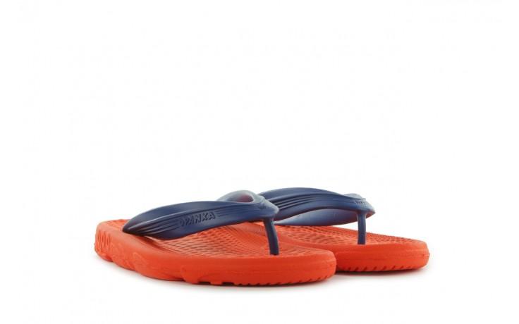 Klapki opanka bark 028 royal c-orange, pomarańczowy, guma - azaleia - nasze marki 1