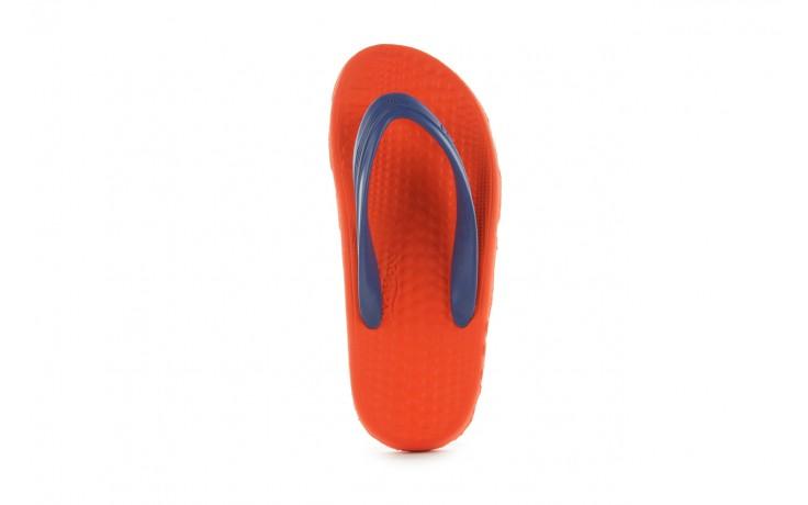 Klapki opanka bark 028 royal c-orange, pomarańczowy, guma - azaleia - nasze marki 3