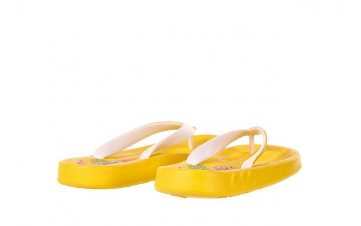 Klapki kiss 026 yellow or neon, żółty, guma - azaleia - nasze marki 4