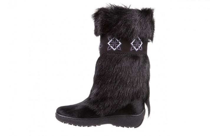 Śniegowce oscar nevada black ,czarny, futro naturalne  - oscar - nasze marki 2