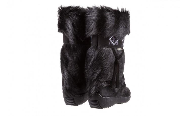 Śniegowce oscar nevada black ,czarny, futro naturalne  - oscar - nasze marki 3