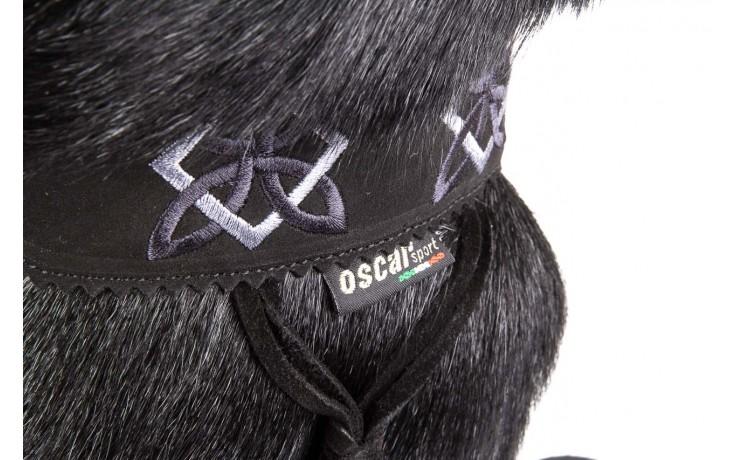 Śniegowce oscar nevada black ,czarny, futro naturalne  - oscar - nasze marki 5