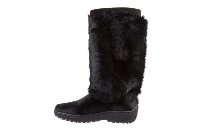 Śniegowce oscar norma l1 black, czarny, futro naturalne  - oscar - nasze marki 2