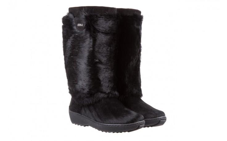 Śniegowce oscar norma l1 black, czarny, futro naturalne  - oscar - nasze marki 1