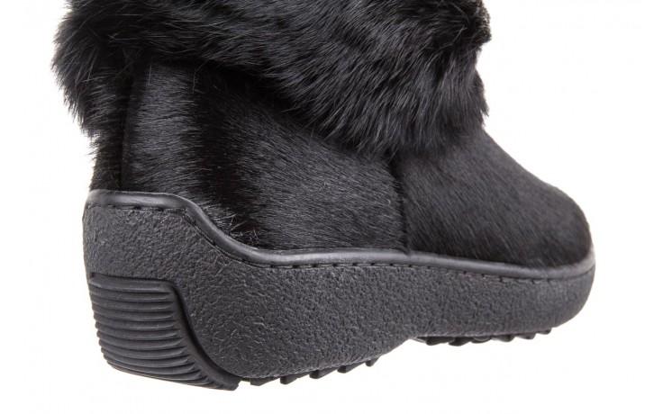 Śniegowce oscar norma l1 black, czarny, futro naturalne  - oscar - nasze marki 4