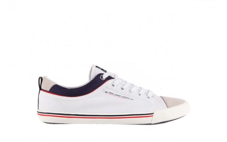Pepe jeans pms30198 britt piping 800 white - pepe jeans  - nasze marki