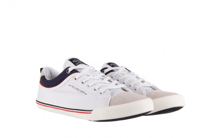 Pepe jeans pms30198 britt piping 800 white - pepe jeans  - nasze marki 1