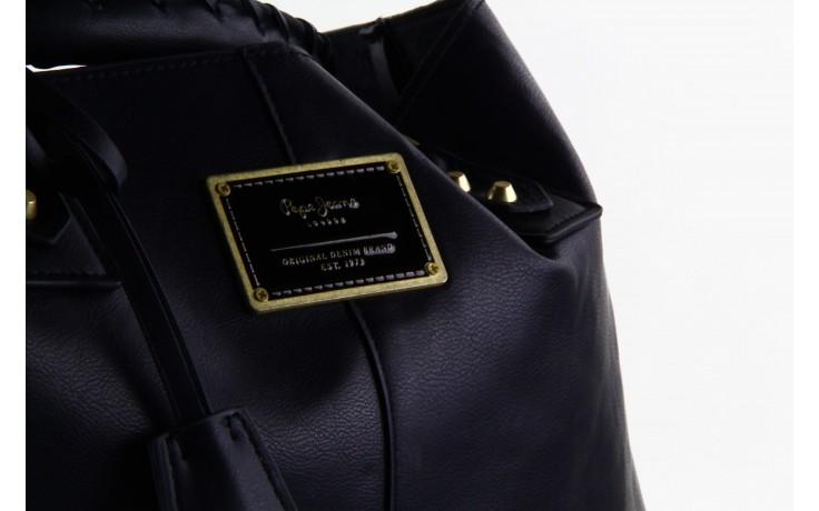 Pepe jeans torebka franchon black  - pepe jeans  - nasze marki 4