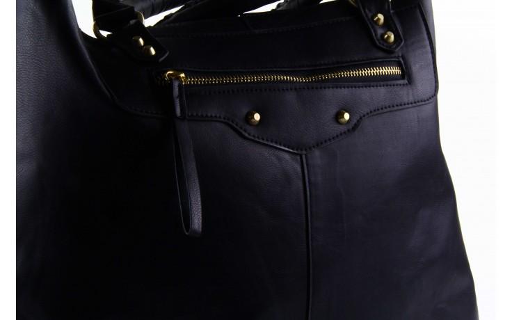 Pepe jeans torebka franchon black  - pepe jeans  - nasze marki 6