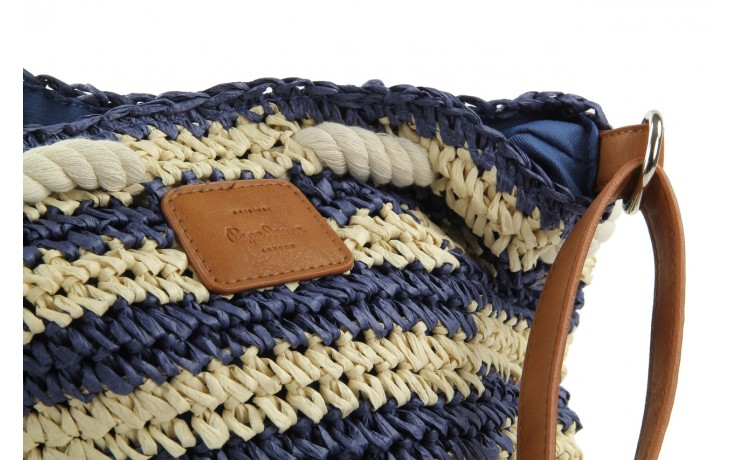 Pepe jeans torebka pg030119 navy - pepe jeans  - nasze marki 5