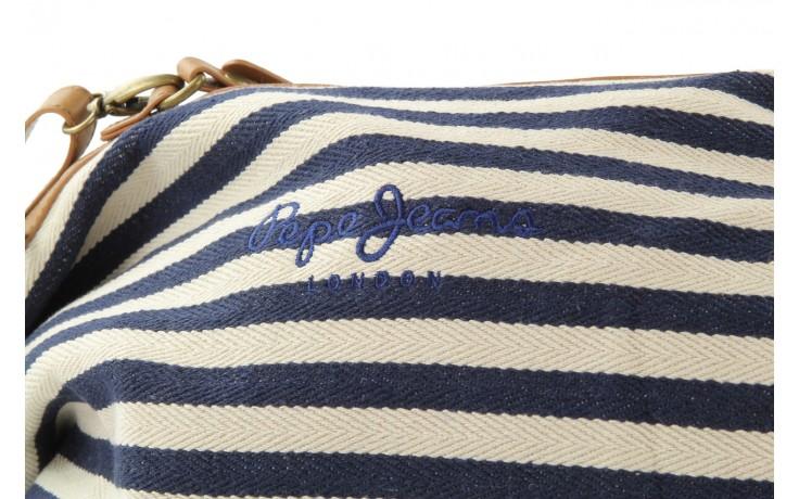 Pepe jeans torebka pl030562 navy - pepe jeans  - nasze marki 4