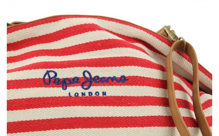 Pepe jeans torebka pl030562 red - pepe jeans  - nasze marki 4