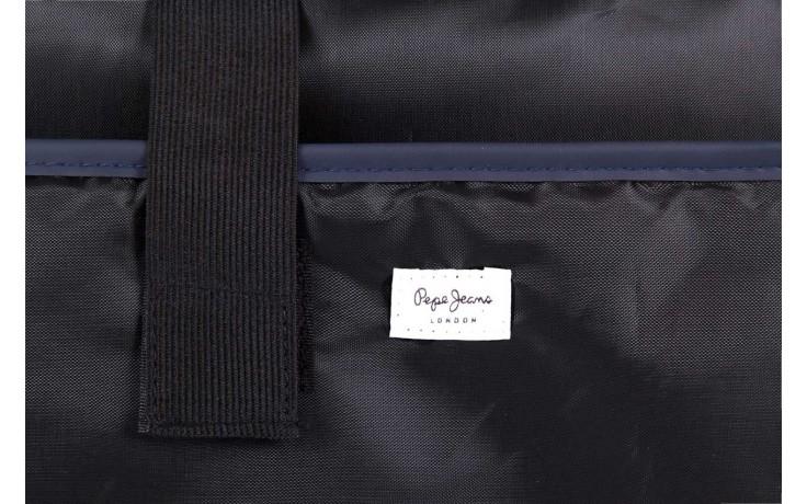 Pepe jeans torebka pm030402 graves bag blue - pepe jeans  - nasze marki 4