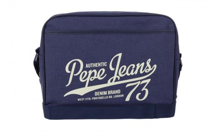 Pepe jeans torebka pm030402 graves bag blue - pepe jeans  - nasze marki