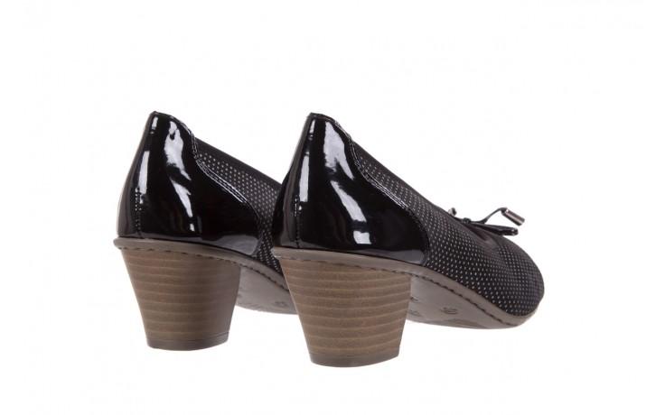 Rieker 45081-00 black combination 3