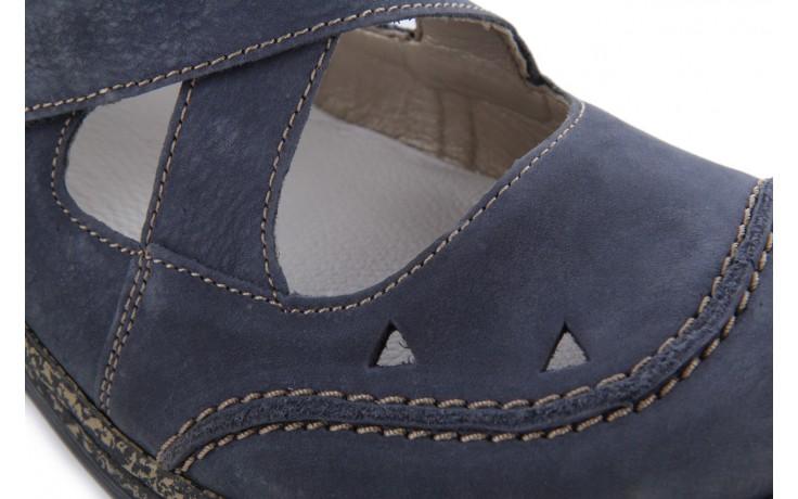 Rieker 46379-14 blue * - nasze marki 6