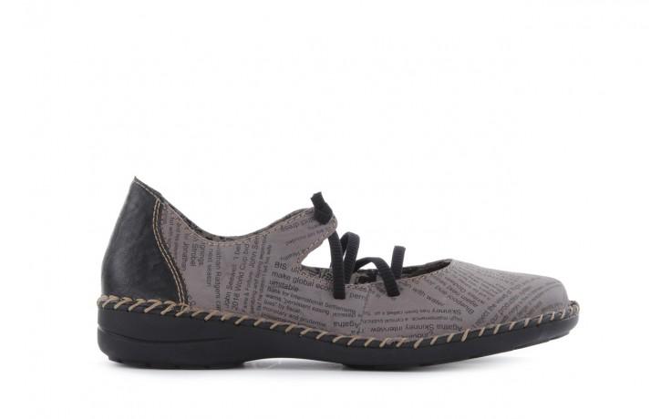 Rieker 49850-40 grey combi