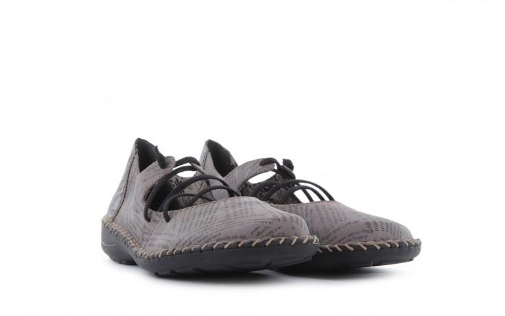 Rieker 49850-40 grey combi 1